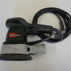 ponceuse excentrique Metabo 150mm CHF 95.- TTC